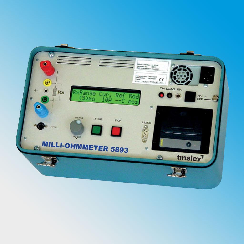 Digital Micro-Ohmmeter 5893