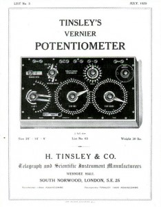 tinsley-history-potentiometeradvert