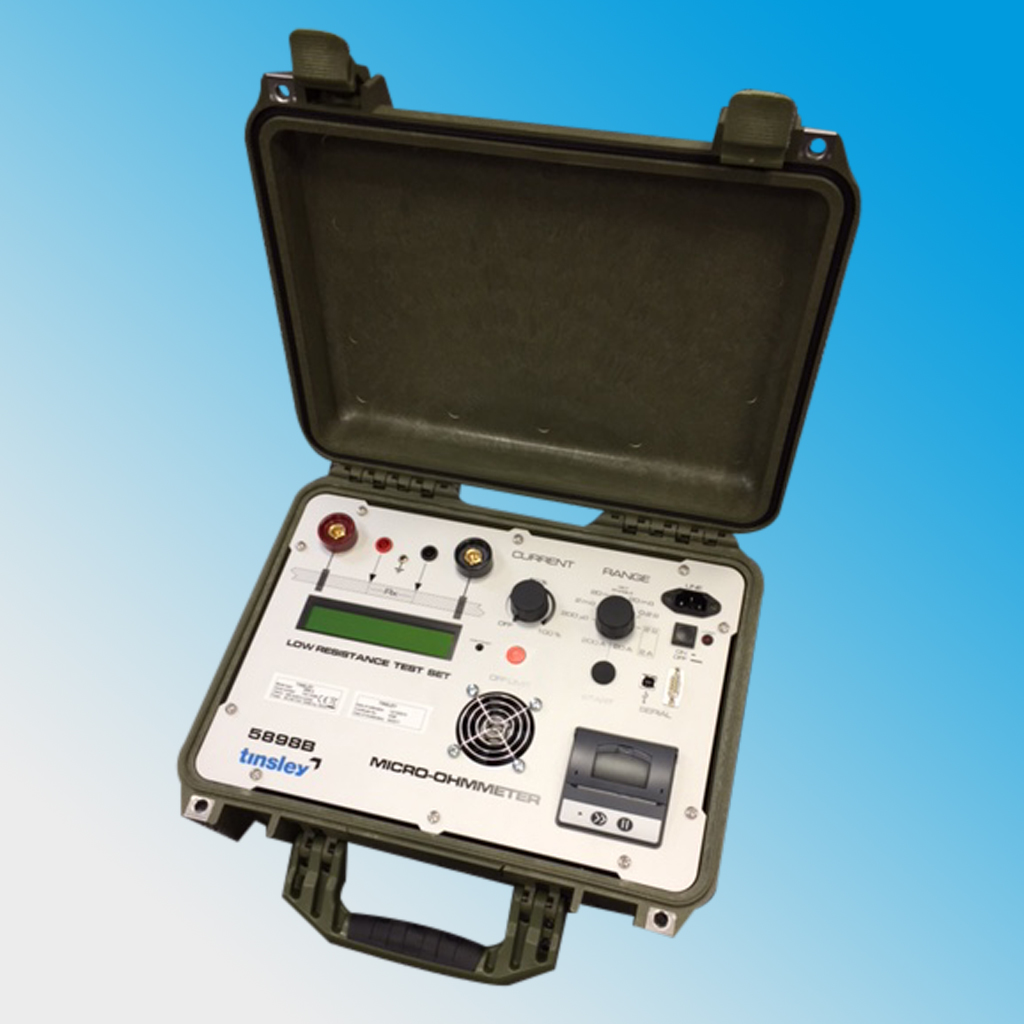 High Current (200A) Portable Micro-Ohmmeter 5898