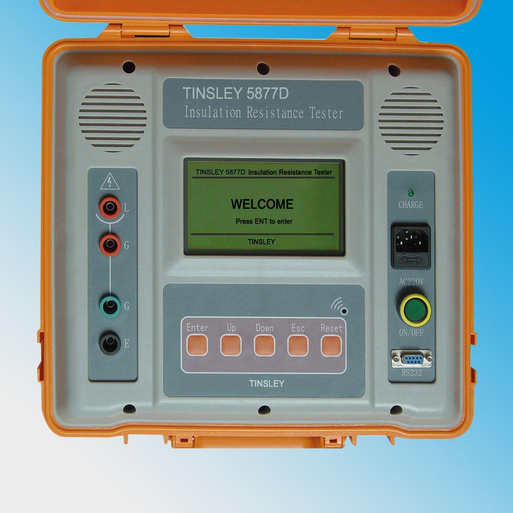 Insulation Tester 5877D