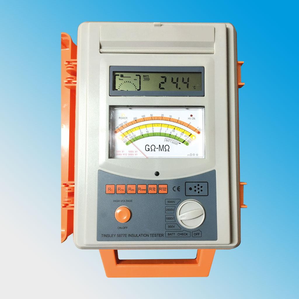 5877E & 5877F Insulation Tester