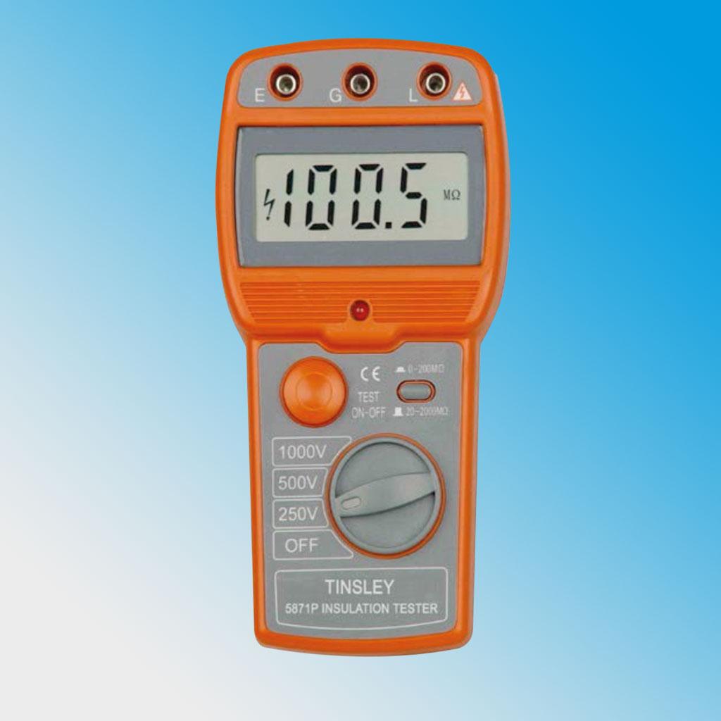 5871 (P/P1/D/E/F) Insulation Tester