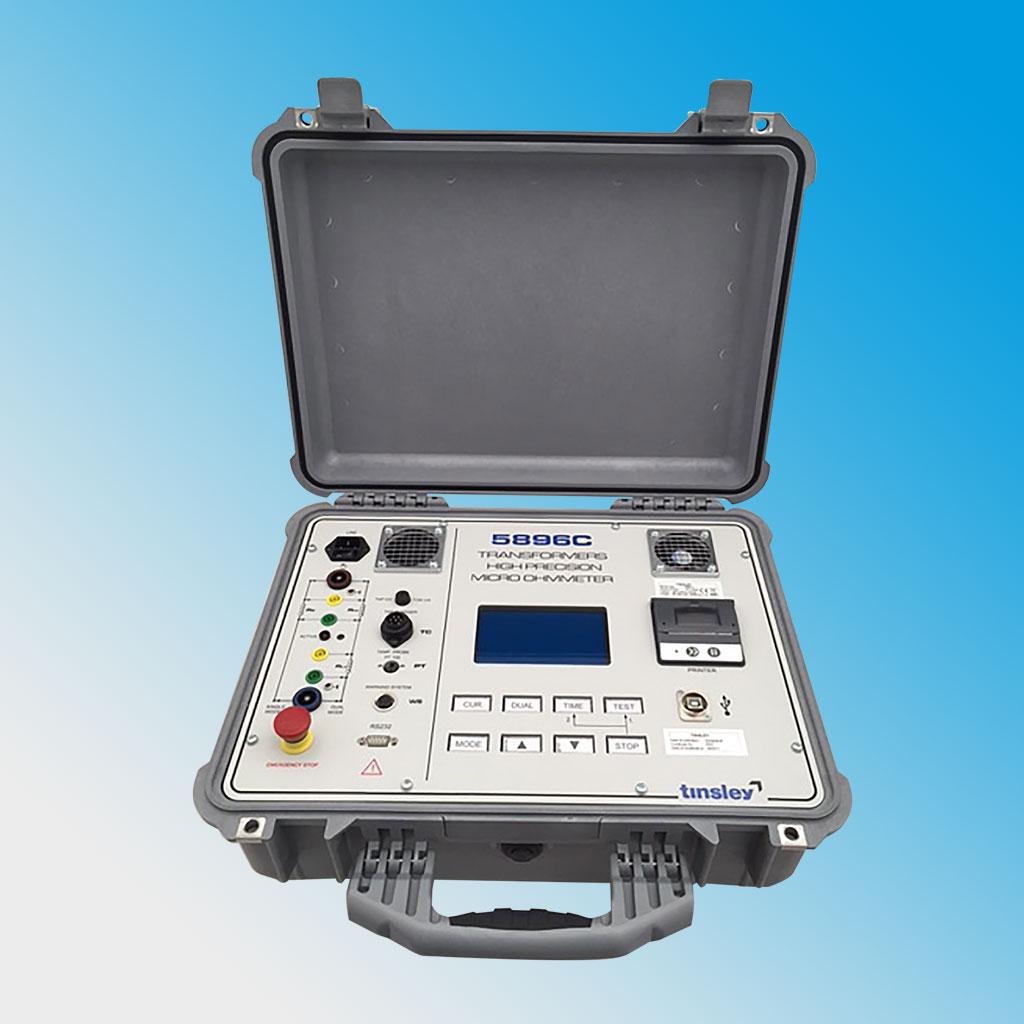 Dual Channel Transformer Micro-Ohmmeter 5896C