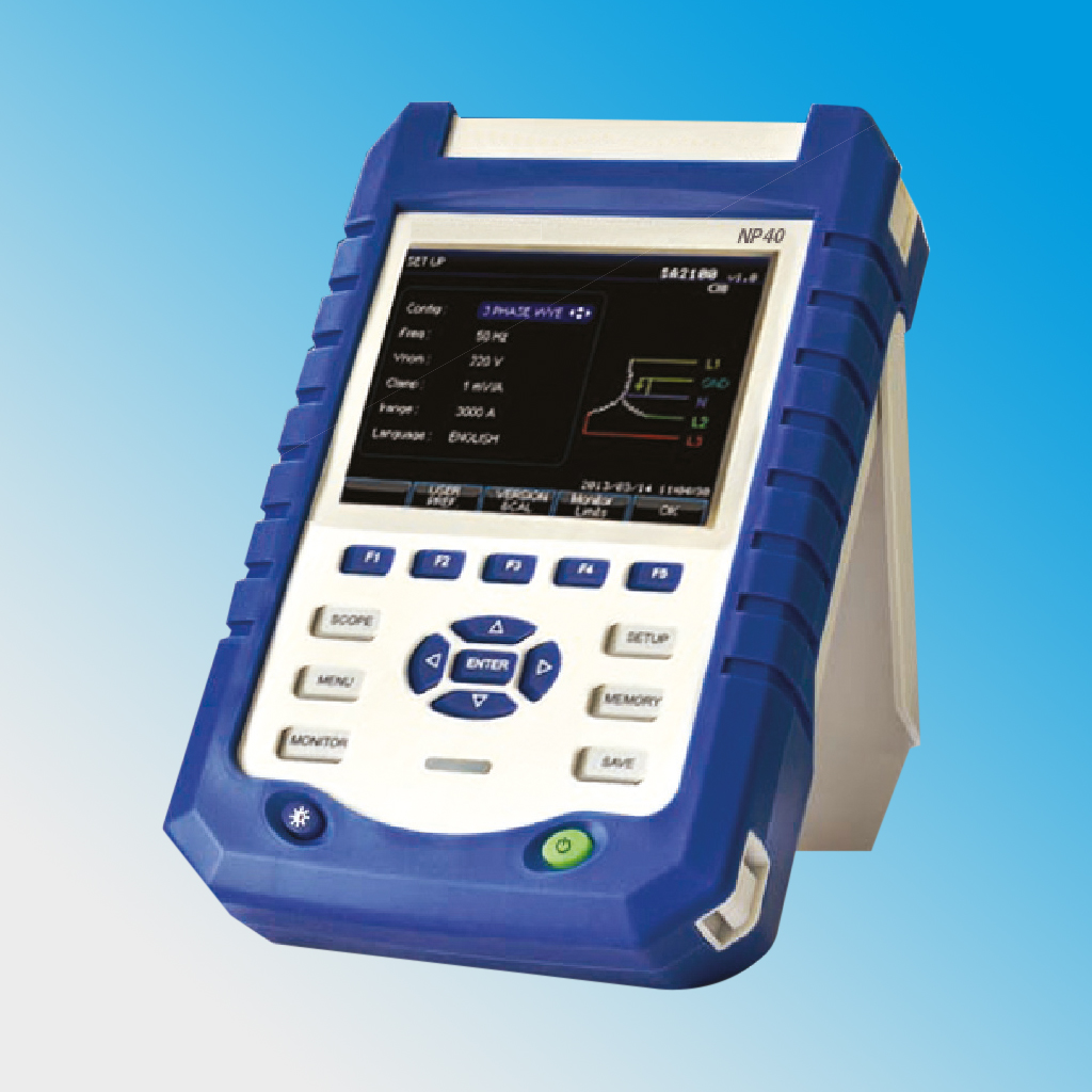NP40 Portable Power Quality Analyzer