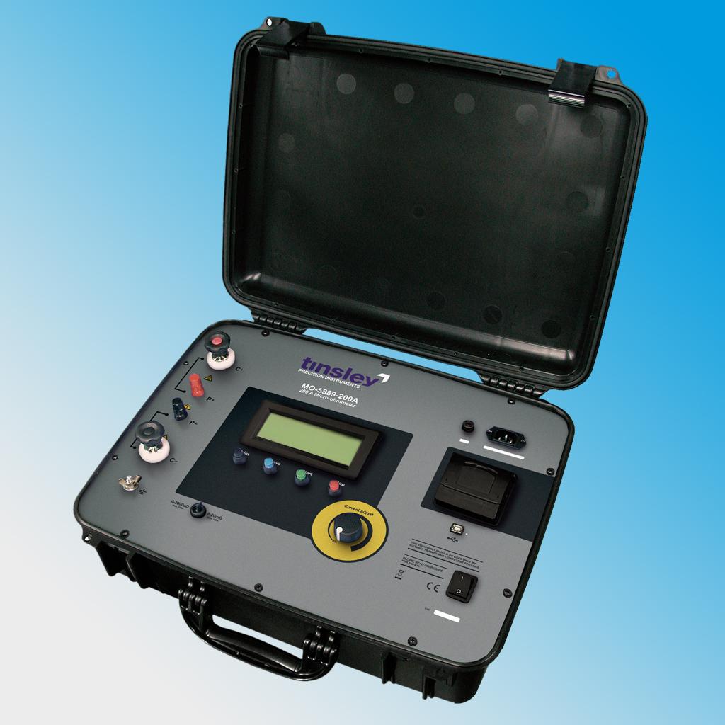 MO-5889-200A Portable Digital Micro-ohmmeter