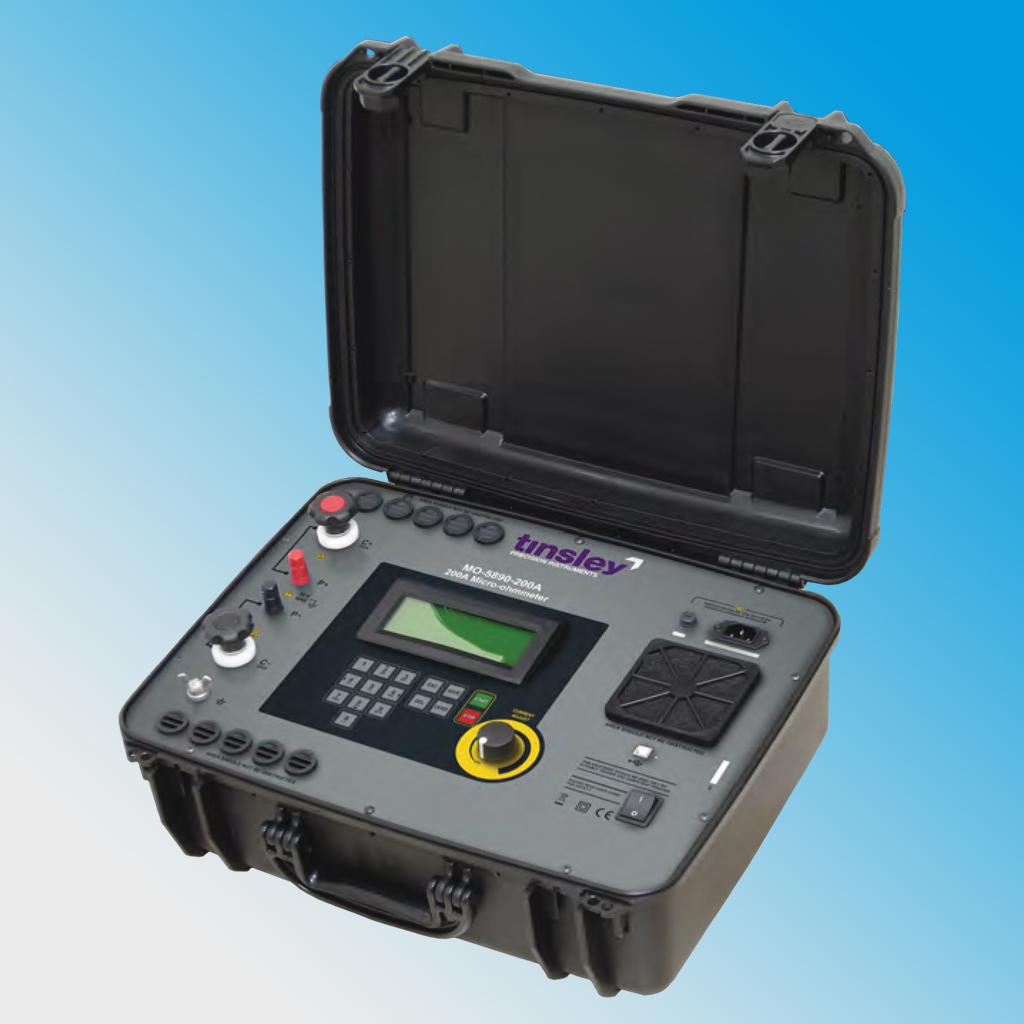 MO-5890-200A Portable Digital Micro-ohmmeter
