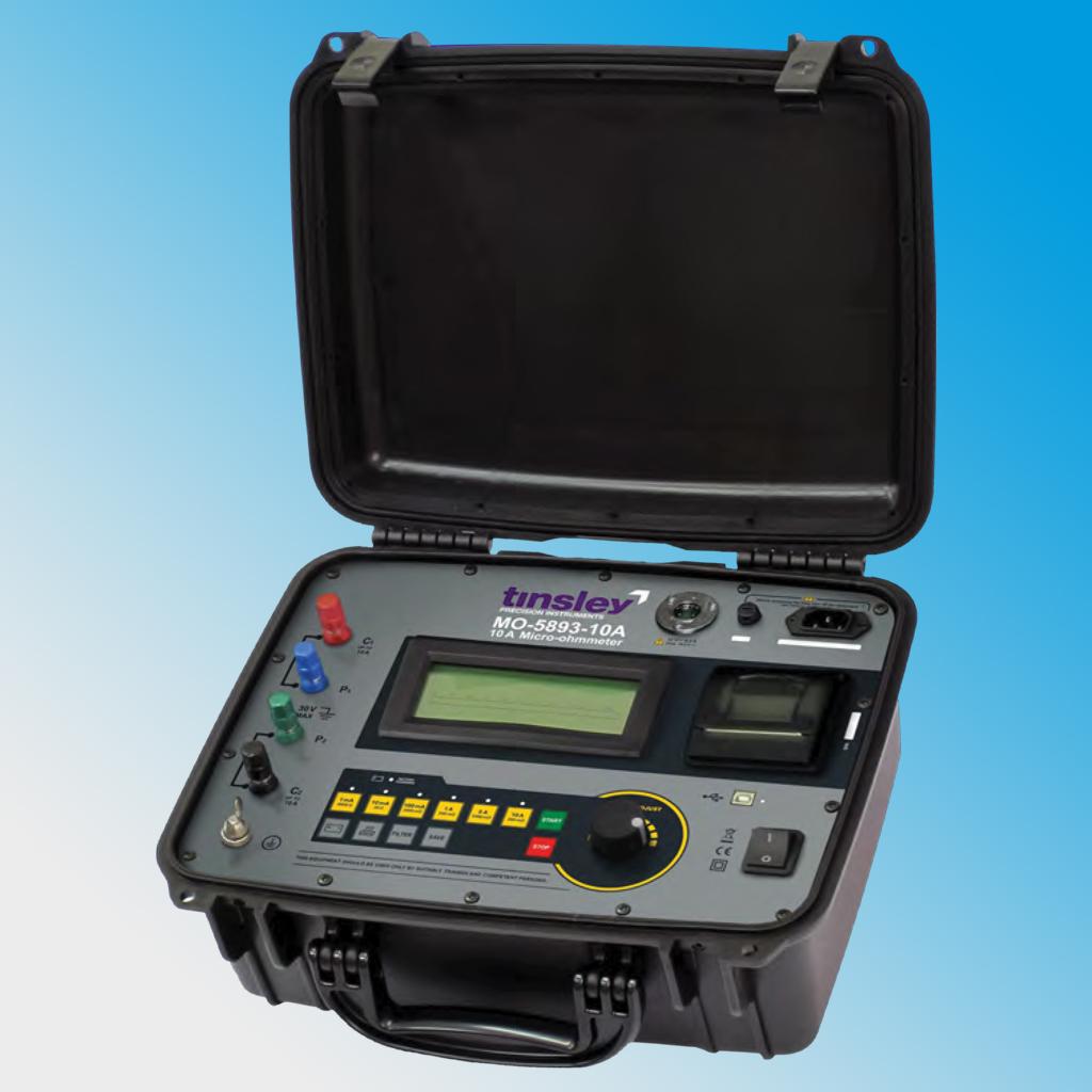 MO-5893-10A Portable Digital Micro-ohmmeter