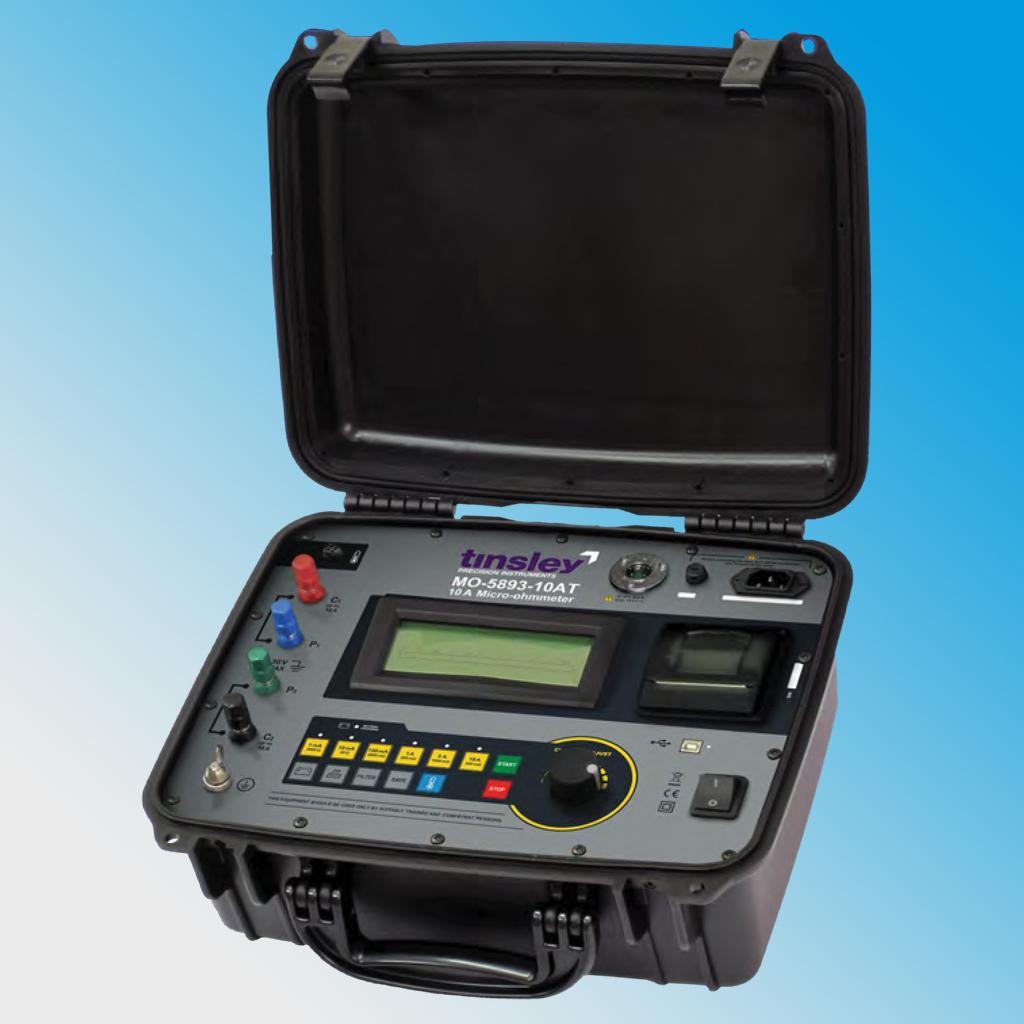 MO-5893-10AT Portable Digital Micro-ohmmeter