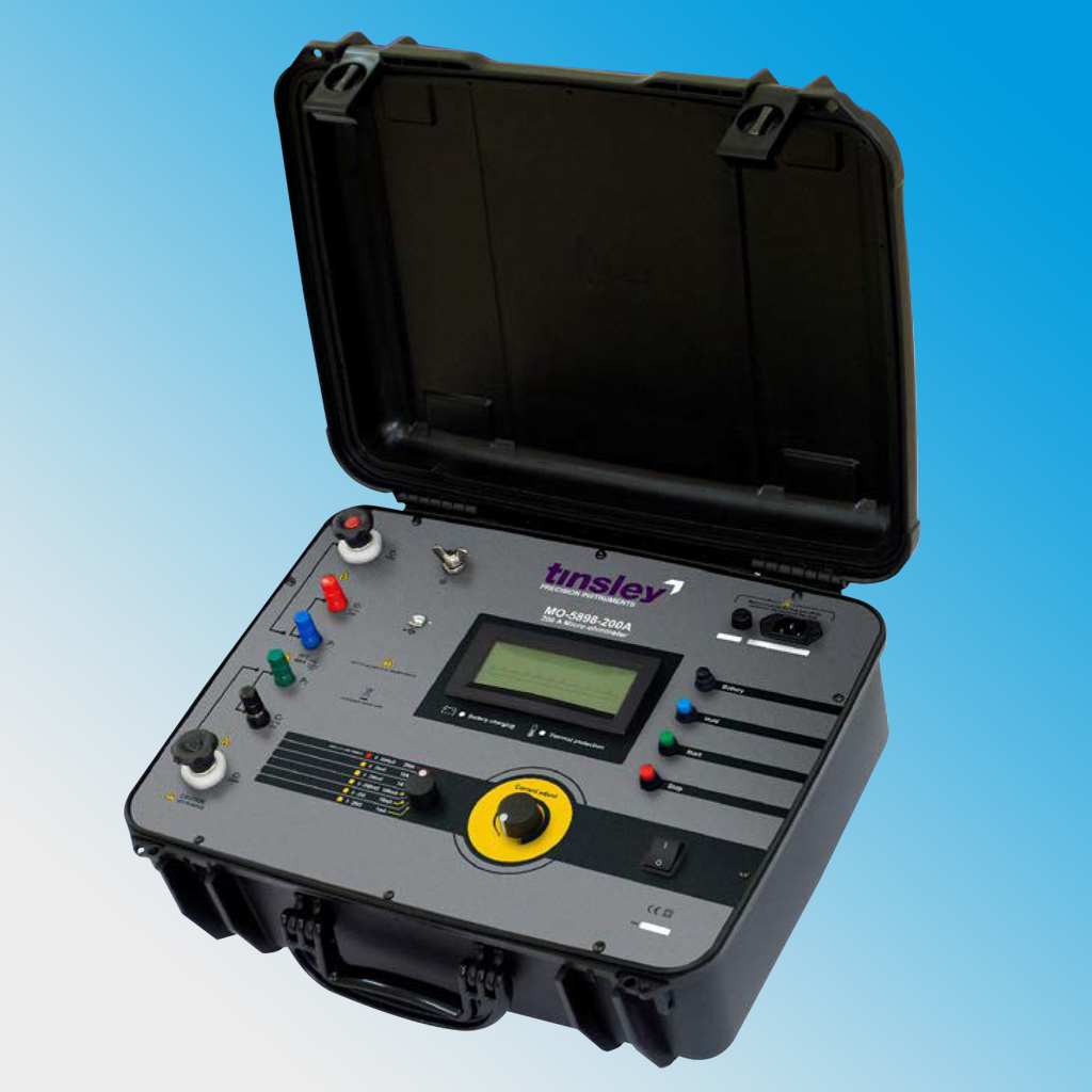 MO-5898-200A Portable Digital Micro-ohmmeter