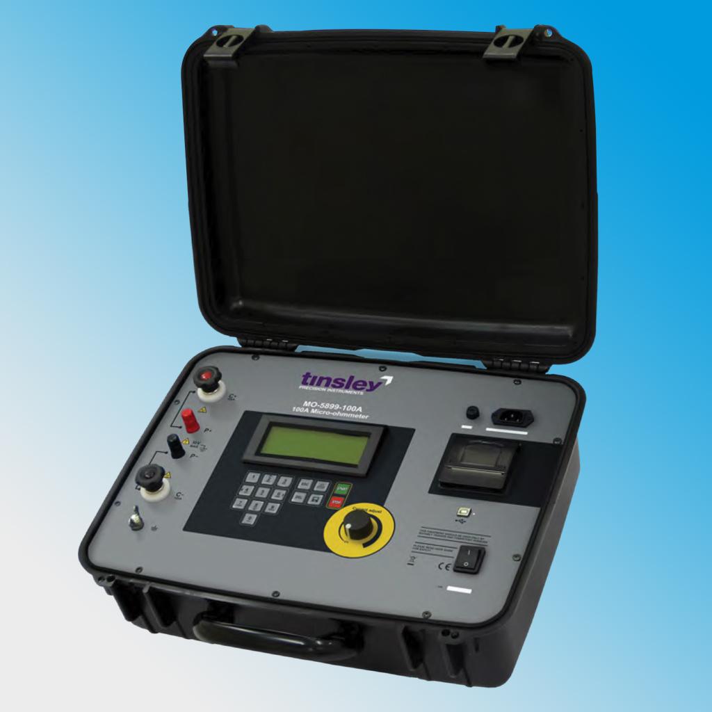 MO-5899-100A Portable Digital Micro-ohmmeter