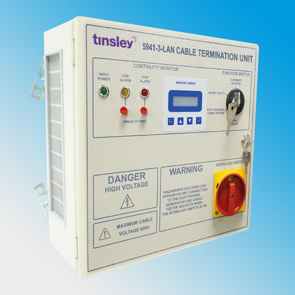 Cable Termination Unit Type 5941-3 (LAN)